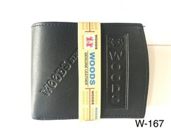 HOODS Mens Leather Wallet