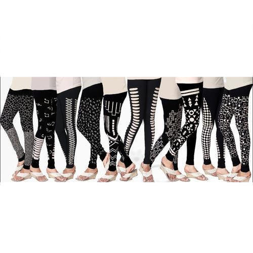 Cotton Casual Wear Printed Leggings