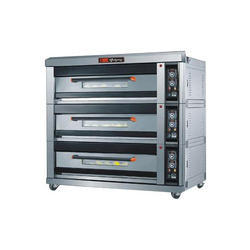 Triple Deck Baking Oven