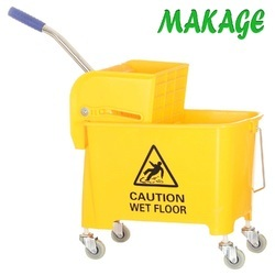 Single Mopping Wringer Trolley