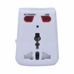 White BD-300 Socket Spy Camera, For Security
