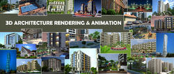 Project Based Architecture Industry 3D Architectural Services, in Pan India