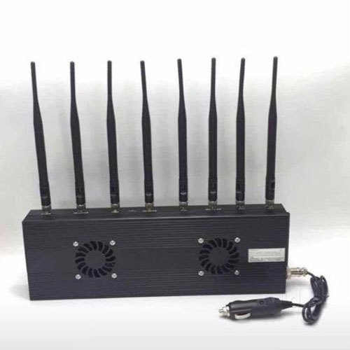 8 Antennas Mobile Phone Signal Jammer