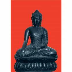 Black Buddh Statue