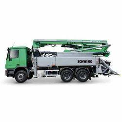 Construction truck-mounted concrete pump S 24 X
