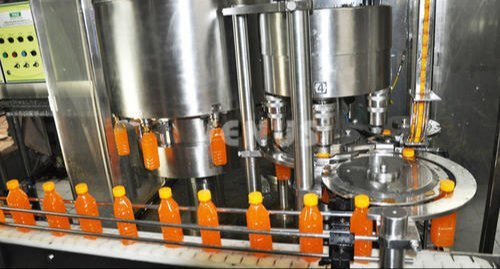 Fully Automatic Juice Filling Machine
