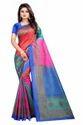 Women's Unstiched Mysore Art Silk Saree