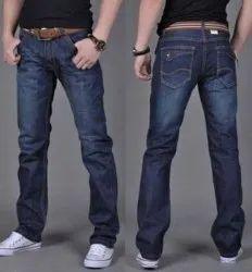 Comfort Fit Casual Wear Men Blue Jeans
