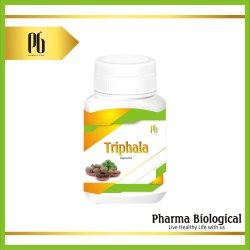 Triphala Capsules, Packaging Type: Plastic Bottle, Pharma Biological