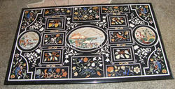 Pietre Dura Marble Table Top