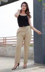 Women Cotton Katha Pant, Size: M to XXL