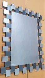 Cubic Mirror With Backside MDF