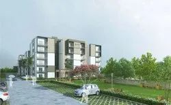 Residential 1-6 3BHK LUXURIOUS FLATS, in Zirakpur, Area Of Construction: 1270