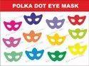 Polka Dot Eye Mask