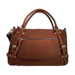 43b2645d9a Adel International Brown Ladies Leather Handbags