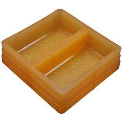 Square Kansagara Rectangular Brick Mould, Thickness: 60 mm