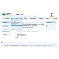 TDS Return Filing Services