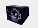 Nisai Enclosure Black Car Bass Tube