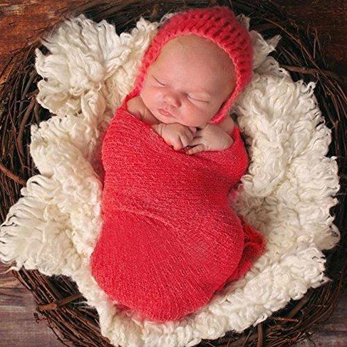 Baby Kids Infant Blanket Stretch Wrap Photo Photography Prop Ornaments T