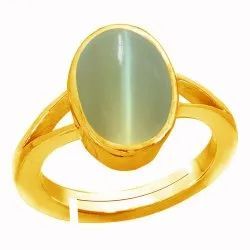 Cat Eye Stone Ring Woman and Men Panchdhatu Gemstone