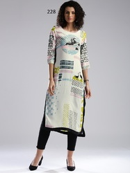 Digital Print Long Kurti