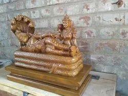 Lord  Renganathar-Vishnu In Ananthasayanam