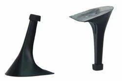 Bhagwati Plast Black Pencil Heel Soles