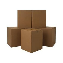 Kraft Paper Single Wall - 3 Ply Liner Carton Boxes, For Shipping, Box Capacity: 6-10 Kg