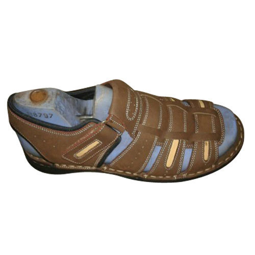 976b15e646e75 Mens Brown Sandal, Size: 6 And 9, Rs 450 /pair, Rajan Global Exports ...