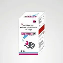 Moxifloxacin And Ketorolac Tromethamine Eye Drops