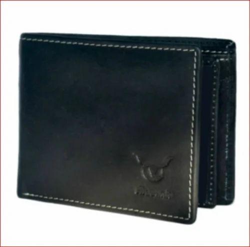 b792ee5e3 Leather Wallets - Hidelink Men Black Genuine Leather Wallet ...