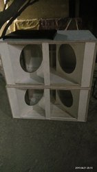 Dual Bass Speaker Cabinet