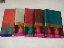 Kora Silk Fancy Sarees