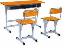 Double Seater Heavy Desk