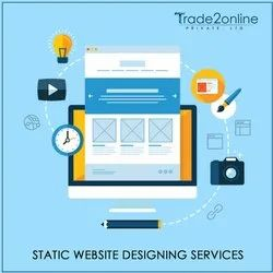 PHP/JavaScript Static Creative Website Designing Services
