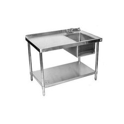 3 Tier Work Table with Sink