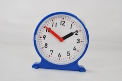 Geared Student Clock For Mathematics