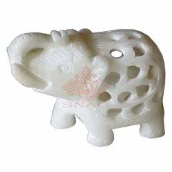 Marble Undercut Elephant