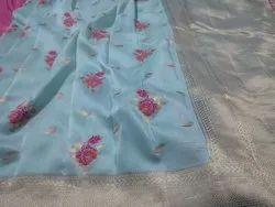 Pure dolla silk saree