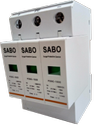 1500v Solar Photo-voltaic Surge Protection Device, Model Name/number: P20c-1500/3p