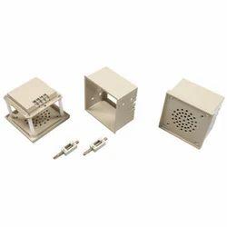 Electrocom Plastic and Mild Steel Hooter Box