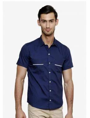 5e57ff27da4 Mens Cotton Half Sleeve Shirt at Rs 750