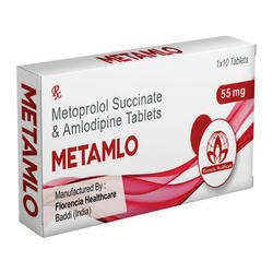 Metoprolol Succinate & Amlodipine Tablets 55mg