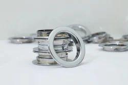 Flat Silver Eyelat Ring For Curtain