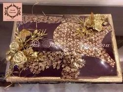 Sajawat Rectangle Wedding Trousseau Packing