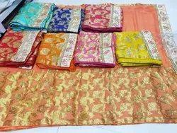 Chiffon Banarasi Saree
