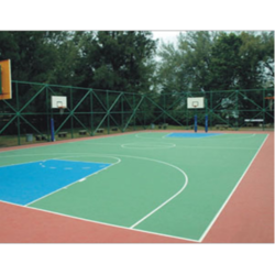 Basketball Court Synthetic Flooring