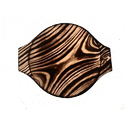Pine Wood Round Food Platter