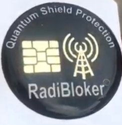 Golden Mobile Anti Radiation Chip