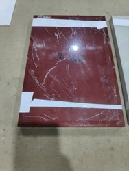 Glass Maroon Back Paint